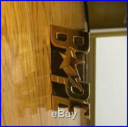 A Bathing Ape Bape Star Buckle Leather Belt Black M from Japan Free Shipping