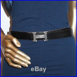 Auth. Hermes Sterling Silver Touareg Belt Buckle RARE