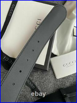 Authentic Gucci Marmont Double GG Buckle Gold Size 85 Width 1.5