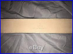 Authentic Gucci Men's Belt with Interlocking G Buckle White/Red/Green size 40/100