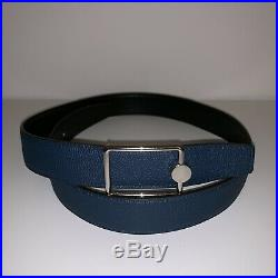 Authentic Hermes Mens Leather Belt With Buckle Size 85