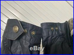 Belstaff Jacket 48 M Great Condition With Belt, Hardly Used