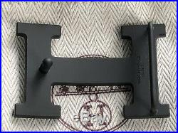 Brand New 100% Authentic Hermes H matte PVD plated Belt Buckle for 32mm belt kit
