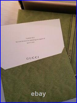 Brand new Gucci Supreme belt with G buckle size 100 mens