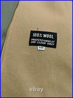 Christian Dior Trench Coat Removable Wool Lining Men's Unisex Size 44 R