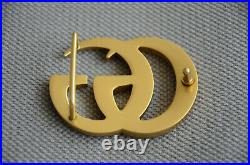 Classic GUCCI GG MARMONT BUCKLE GOLD FOR LEATHER BELT