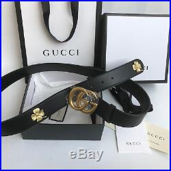 GUCCI Belt Double GG Buckle