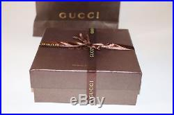 GUCCI Leather Belt With Snake buckle size 105 42 with box and bag brand new