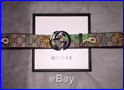Gucci Double GG Buckle Belt 100% Authentic Brand New Size 90cm 30-32 Waist Tiger