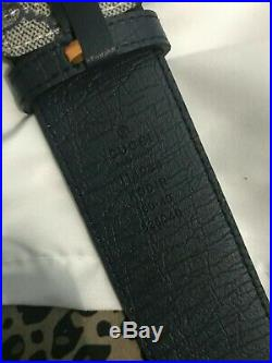 Gucci Imprime double reverse G with silver buckle for size (34-36) in