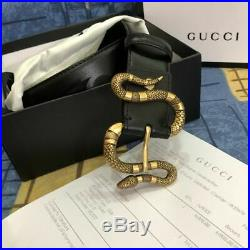 Gucci Snake Buckle Belt Perfect Condition