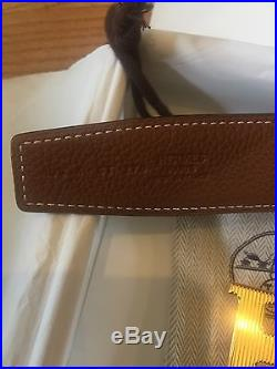 Hermès Reversible Belt 32mm with H Buckle in Gold plated metal Size 105