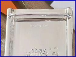 Hermes AG Sterling Silver TOUAREG 8 Belt Buckle H 32mm, New with Pouch & Box