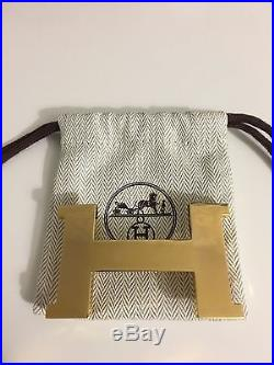Hermes Gold Buckle To fit a 42mm Belt