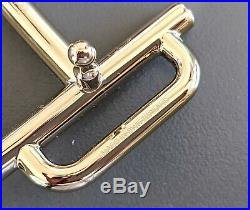 Hermes Permabrass H ROYAL Buckle H 32mm, New in Pochette and White Box