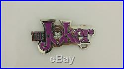 Joker Belt Buckle DC Comics With Or WIthout Snap On Belt UK DISPATCH