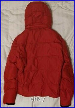 LAST! Polo Ralph Lauren Mens Big Pony Hooded Down Puffer Jacket Size M, Red, NWT
