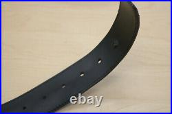 Louis Vuitton M6876 Men's Belt with Buckle 110 US44 Pre-owned FREE SHIPPING
