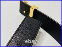 Louis vuitton BELT LV THE KNOT 30MM REVERSIBLE 85 cm 34 in LEATHER AUTH
