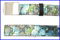 NEW GUCCI GUCCISSIMA SUPREME BLOOMS LOGO BUCKLE BELT 100/40 WithBOX