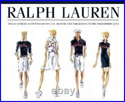 Polo Ralph Lauren Team USA Official 2012 Olympic Games Ceremony Belt Small 39