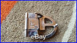 RARE DUNHILL STERLING SILVER AD BELT BUCKLE