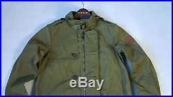 Ralph Lauren Rlx Mens Military Olive Trench Long Belted Pea-coat/jacket Szm