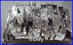 Solid Sterling Silver Belt Buckle The Royale