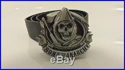 Sons Of Anarchy Belt Buckle SAMCRO With / Without Belt Free Postage