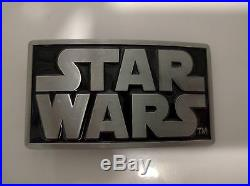 Star Wars Belt Buckle With Or Without Snap On Belt FREE POSTAGE UK Seller